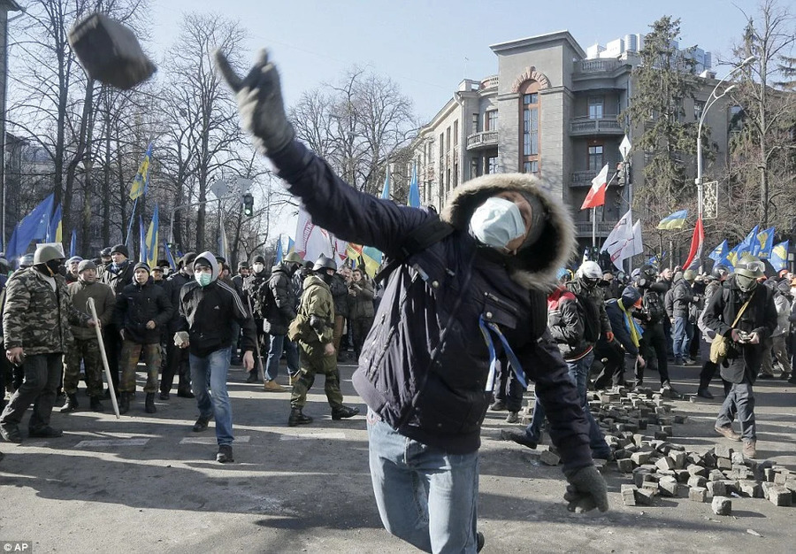 Переворот на Украине