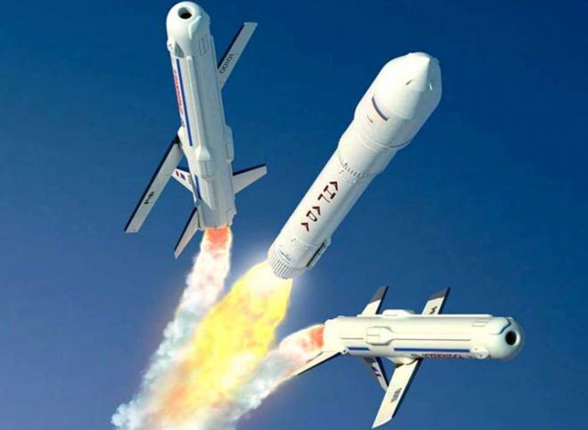 """проект многоразовой крылатой ракеты, """"Крыло-СВ""""."""