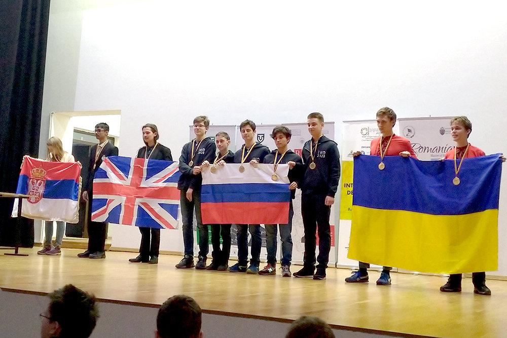 В Бухаресте подвели итоги международной математической олимпиады Romanian Masters